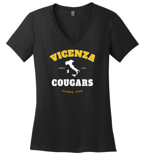 Vicenza Cougars - Women's V-Neck T-Shirt
