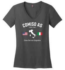 "Comiso AS ""GBNF"" - Women's V-Neck T-Shirt-Wandering I Store"