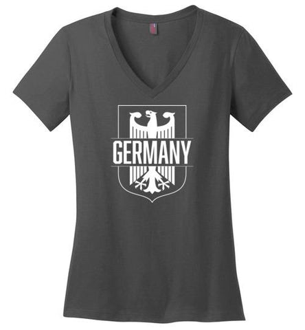 Germany - Women's V-Neck T-Shirt