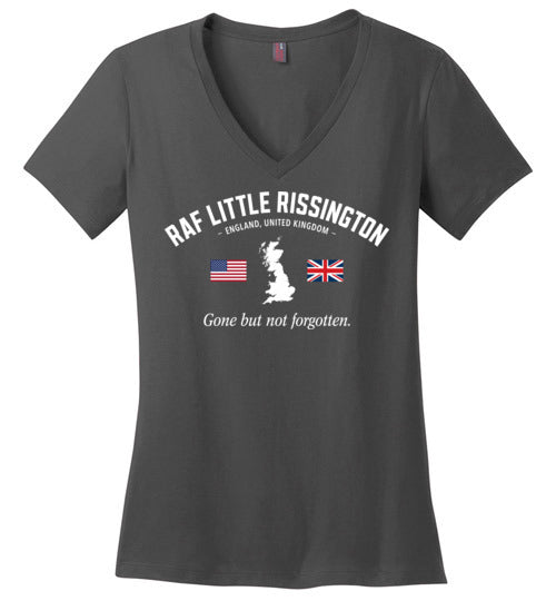 "RAF Little Rissington ""GBNF"" - Women's V-Neck T-Shirt-Wandering I Store"
