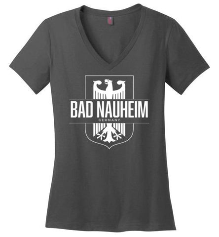 Bad Nauheim, Germany - Women's V-Neck T-Shirt-Wandering I Store