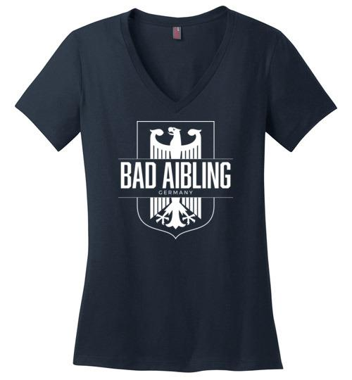 Bad Aibling, Germany - Women's V-Neck T-Shirt-Wandering I Store