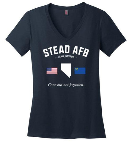 "Stead AFB ""GBNF"" - Women's V-Neck T-Shirt-Wandering I Store"