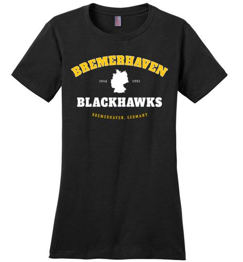 Bremerhaven Blackhawks - Women's Crewneck T-Shirt