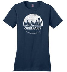 "U.S. Armed Forces Germany ""On The Watch Since 1945"" - Women's Crewneck T-Shirt-Wandering I Store"