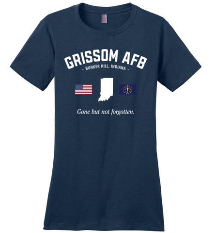 "Grissom AFB ""GBNF"" - Women's Crewneck T-Shirt-Wandering I Store"