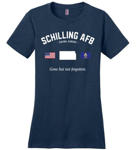 "Schilling AFB ""GBNF"" - Women's Crewneck T-Shirt-Wandering I Store"