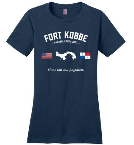 "Fort Kobbe ""GBNF"" - Women's Crewneck T-Shirt-Wandering I Store"