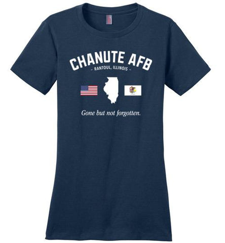 "Chanute AFB ""GBNF"" - Women's Crewneck T-Shirt-Wandering I Store"
