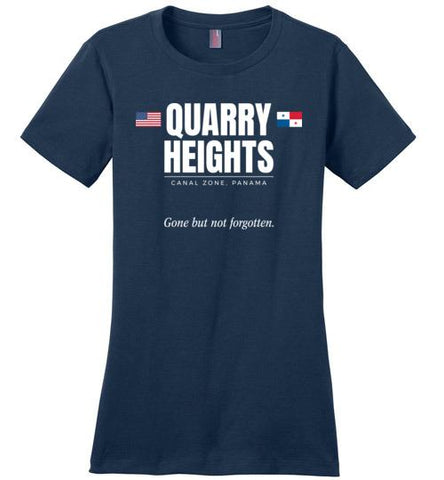 "Quarry Heights ""GBNF"" - Women's Crewneck T-Shirt-Wandering I Store"