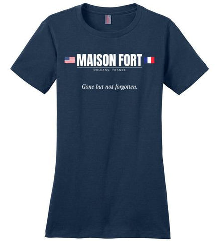 "Maison Fort ""GBNF"" - Women's Crewneck T-Shirt-Wandering I Store"