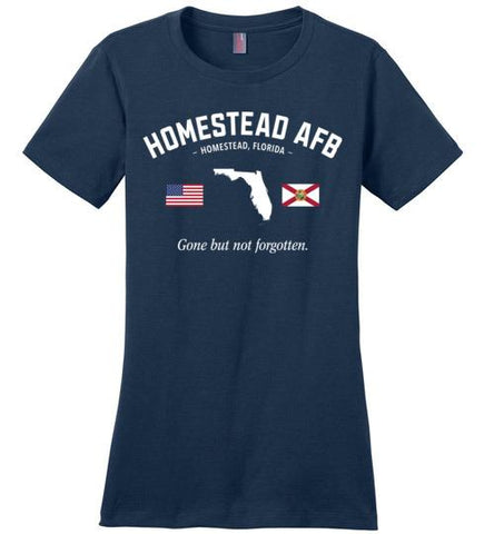 "Homestead AFB ""GBNF"" - Women's Crewneck T-Shirt-Wandering I Store"