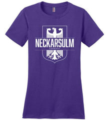 Neckarsulm, Germany - Women's Crewneck T-Shirt-Wandering I Store