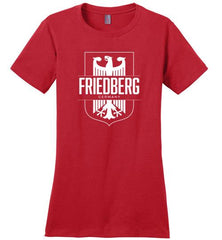 Friedberg, Germany - Women's Crewneck T-Shirt-Wandering I Store