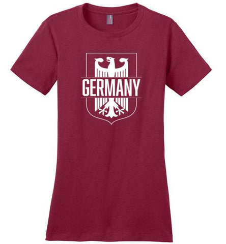 Germany - Women's Crewneck T-Shirt-Wandering I Store