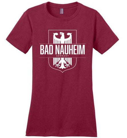 Bad Nauheim, Germany - Women's Crewneck T-Shirt-Wandering I Store