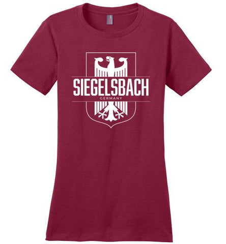 Siegelsbach, Germany - Women's Crewneck T-Shirt-Wandering I Store