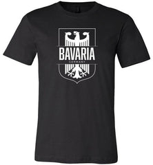 Bavaria, Germany - Men's/Unisex Lightweight Fitted T-Shirt-Wandering I Store
