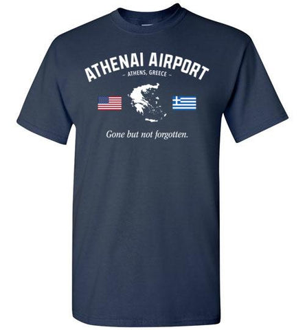 "Athenai Airport ""GBNF"" - Men's/Unisex Standard Fit T-Shirt-Wandering I Store"