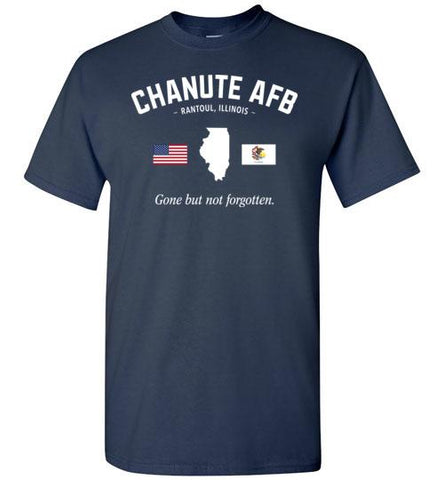"Chanute AFB ""GBNF"" - Men's/Unisex Standard Fit T-Shirt-Wandering I Store"