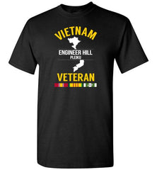 "Vietnam Veteran ""Engineer Hill Pleiku"" - Men's/Unisex Standard Fit T-Shirt-Wandering I Store"