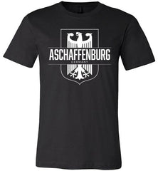 Aschaffenburg, Germany - Men's/Unisex Lightweight Fitted T-Shirt-Wandering I Store