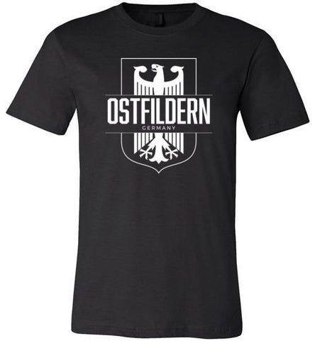 Ostfildern, Germany - Men's/Unisex Lightweight Fitted T-Shirt-Wandering I Store