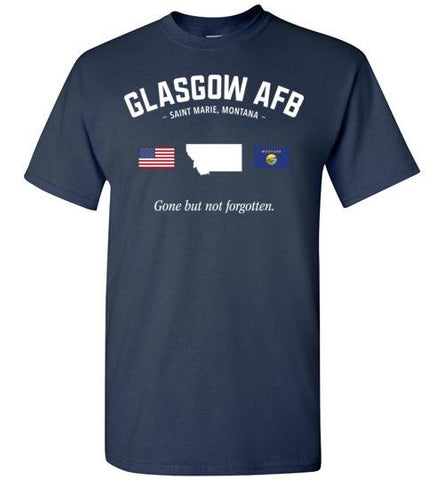 "Glasgow AFB ""GBNF"" - Men's/Unisex Standard Fit T-Shirt-Wandering I Store"
