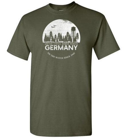 "U.S. Armed Forces Germany ""On The Watch Since 1945"" - Men's/Unisex Standard Fit T-Shirt"