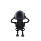 Black Skull USB Flash Drive