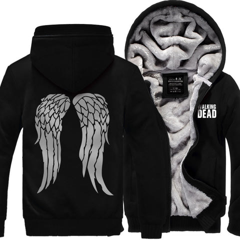 New The Walking Dead Hoodie Zombie Daryl Dixon Wings Hoodie