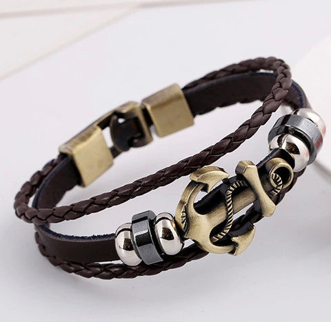 VINTAGE LEATHER BRACELEET