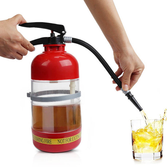 1500 ML Fire Extinguisher Drink Dispenser - Blue Star Collections
