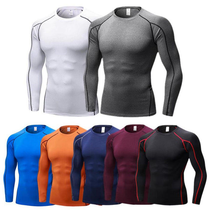 Men's Quick Dry Breathable Fitness T-Shirt