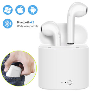 Wireless Bluetooth Earbud Headset With Charging Box For IPhone