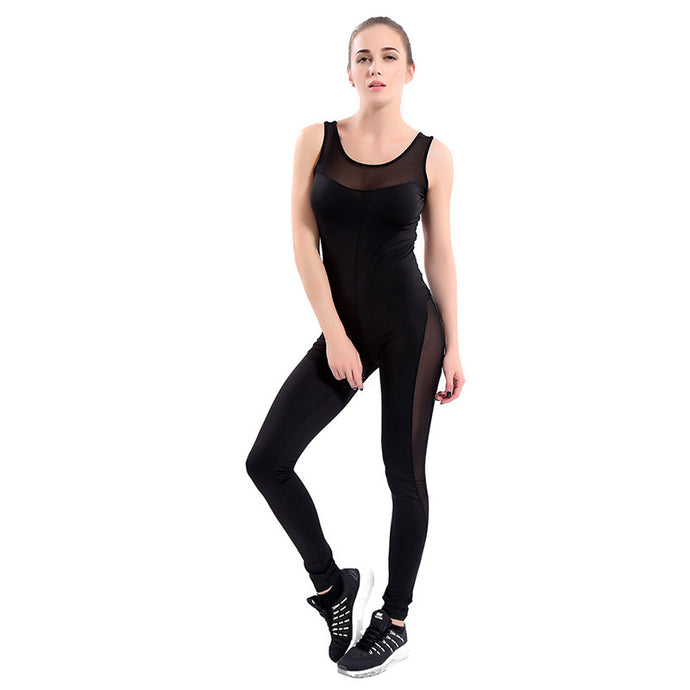 Fitness Yoga Wear Gym Workout Jumpsuit