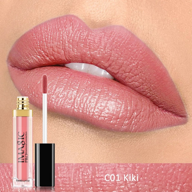 IMAGIC Waterproof Matte Lip Gloss 12color