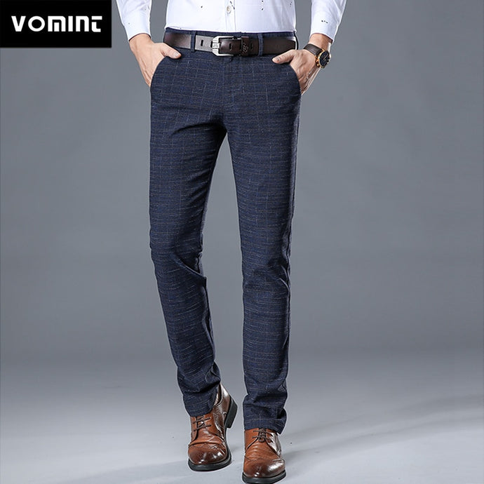 VOMINT New High Quality Men's Elastic Casual Pants