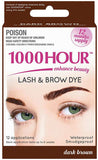 1000 Hour Eyelash and Brow Dye Kit Dark Brown