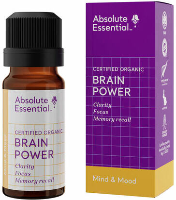 Absolute Essential Brain Power (Organic) 10ml