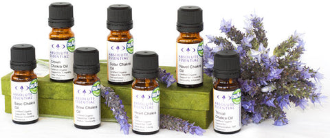 Absolute Essential Chakra Oil Set (Organic)