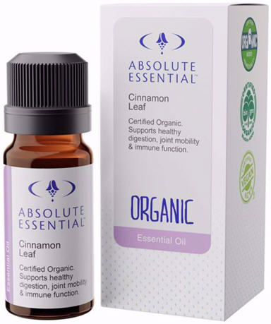 Absolute Essential Cinnamon Leaf Oil (Organic) 10ml
