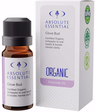 Absolute Essential Clove Bud Organic Oil 10ml