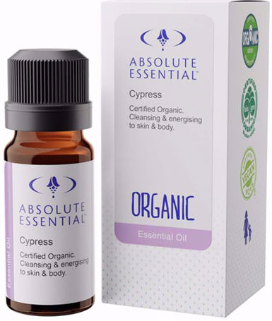 Absolute Essential Cypress Oil Certified Organic 10ml
