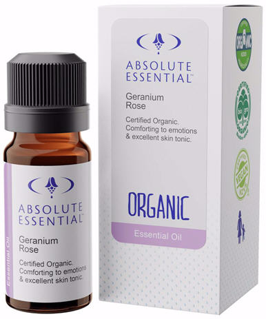 Absolute Essential Geranium Rose Certified Organic Oil 10ml