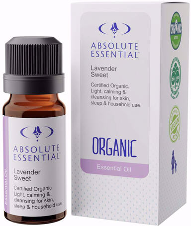 Absolute Essential Lavender Sweet Certified Organic Oil 10ml