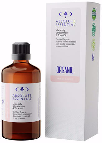 Absolute Essential Maternity Stretchmark and Tone Oil Organic 100ml