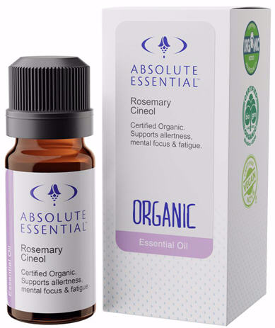 Absolute Essential Rosemary Cineol Oil Organic 10ml