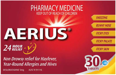 Aerius 5mg Tablets 30