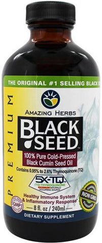 Amazing Herbs Black Seed Oil Premium 240ml
